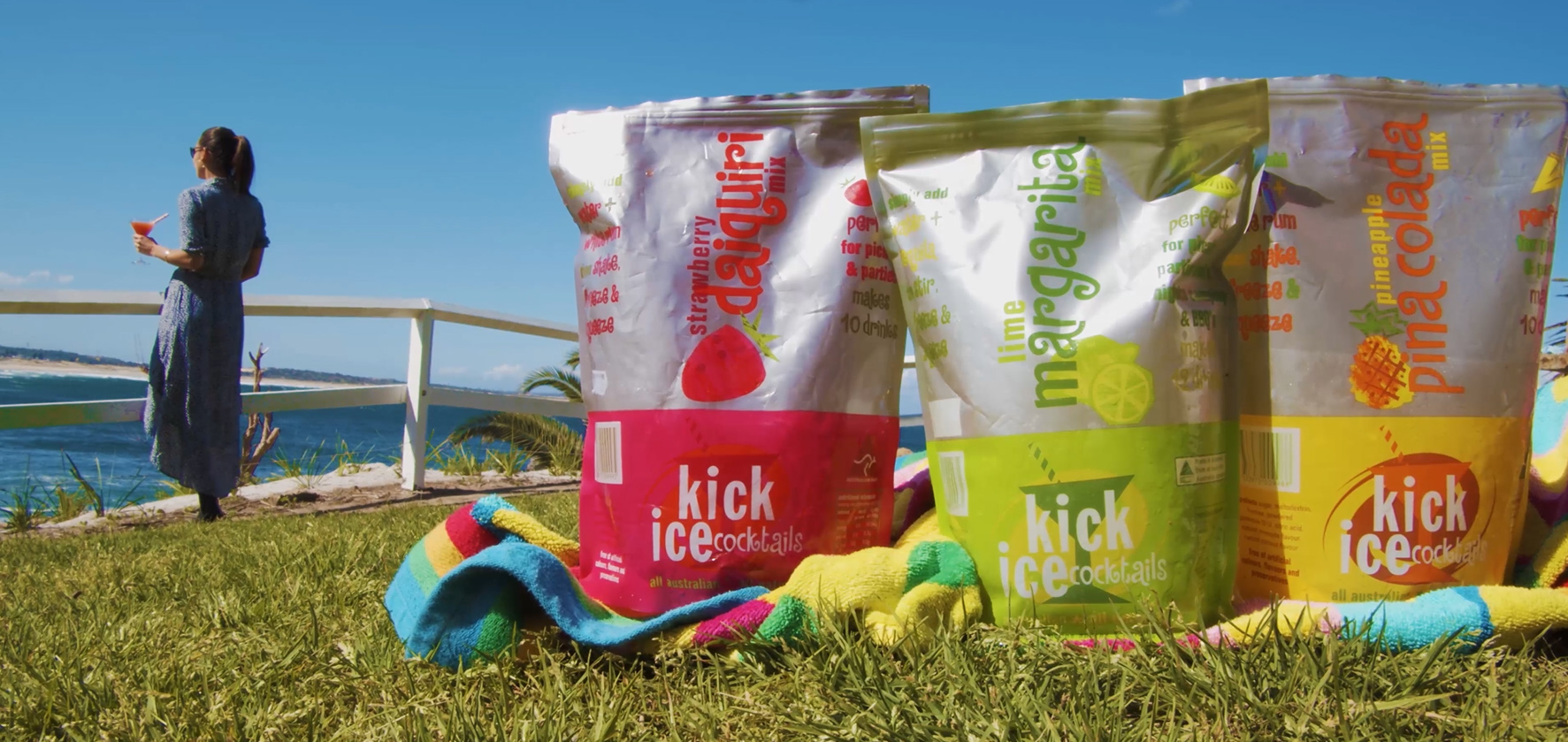 Kick Ice Cocktails